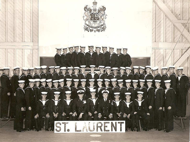 Royal Canadian Navy : HMCS Cornwallis, St. Laurent Division, 1967.