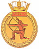HMCS Cayuga badge
