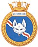 HMCS Qu'Appelle badge