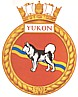 HMCS Yukon badge