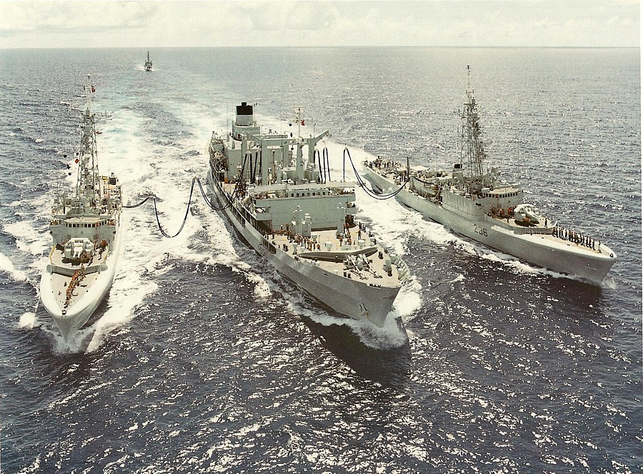 Royal Canadian Navy : HMCS Provider.