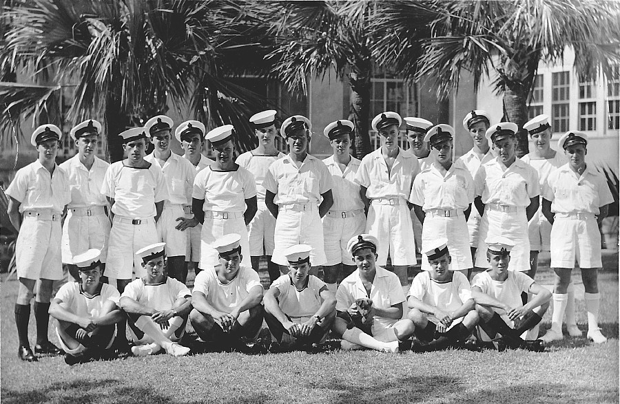 HMCS Provider crew members in Bermuda