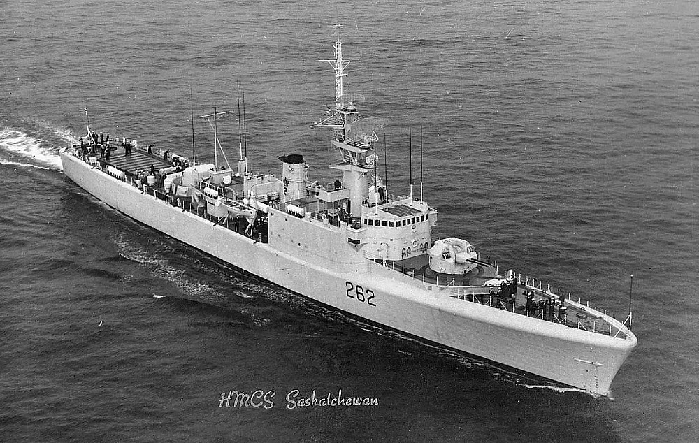 Royal Canadian Navy : HMCS Saskatchewan
