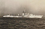 HMCS Athabaskan, Aug, 1944, DND photo