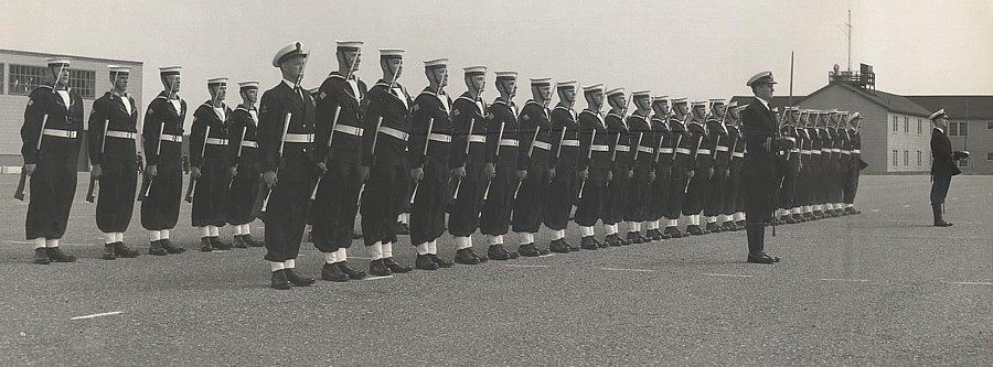 Royal Canadian Navy : HMCS Cornwallis, 1963.