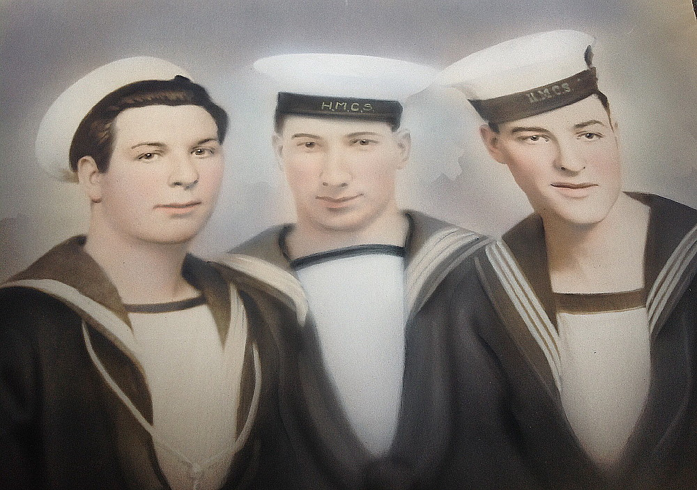 Royal Canadian Navy : Unidentified sailors, WW2