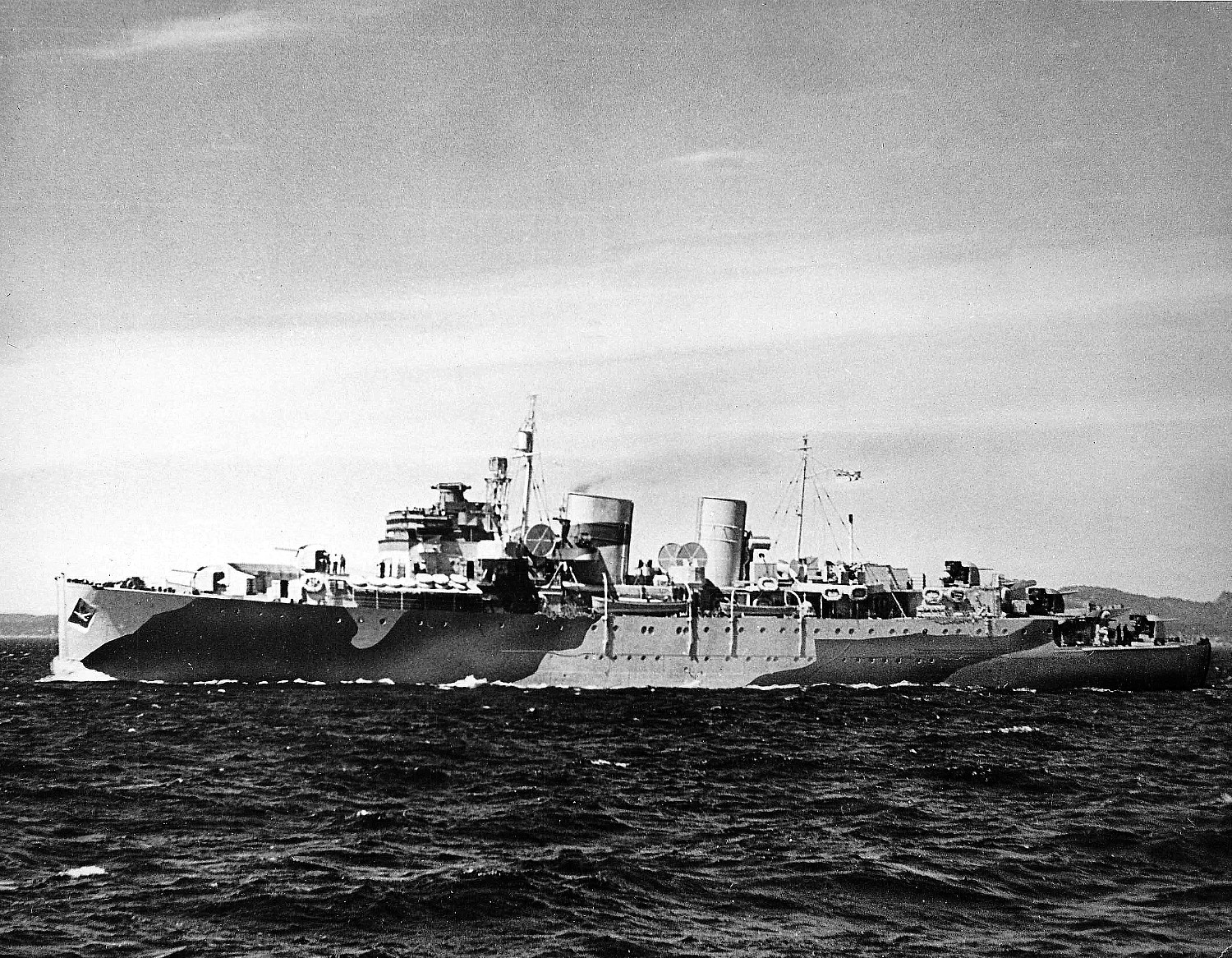 Royal Canadian Navy : unknown cruiser