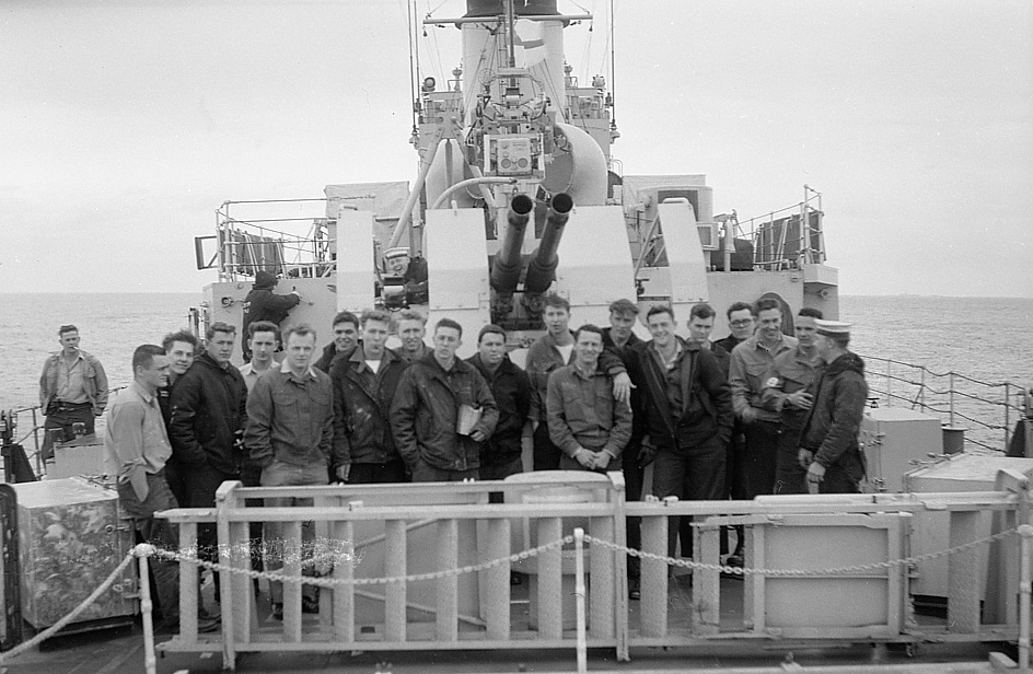 HMCS Ste. Therese weapons department, 1962 or 1963.