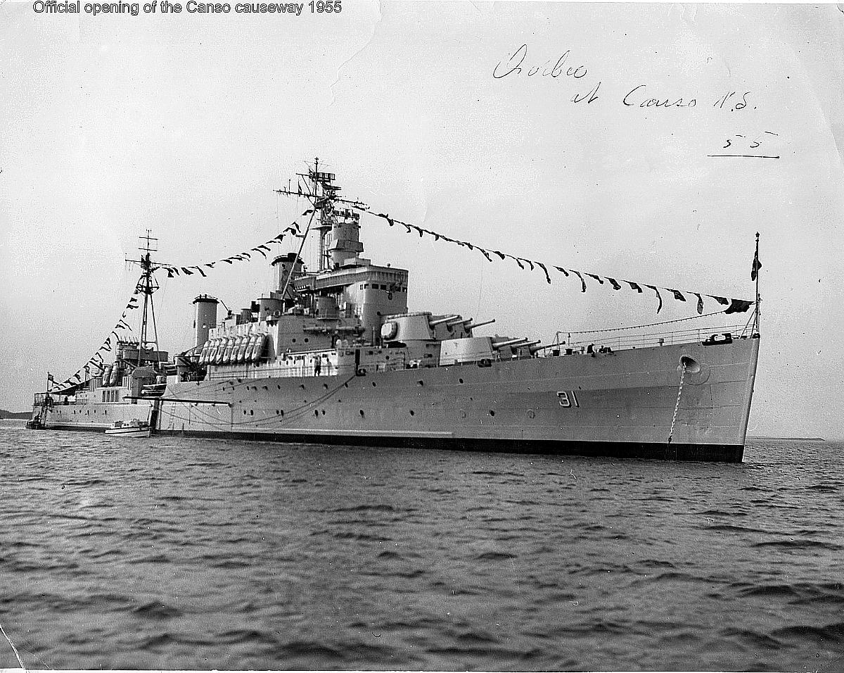 Royal Canadian Navy : HMCS Quebec, 1955