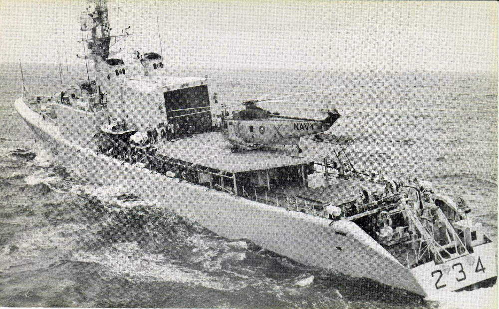 Royal Canadian Navy : HMCS Assiniboine