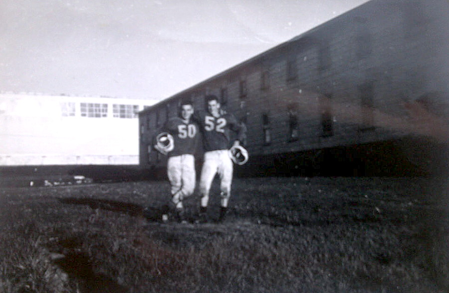 Royal Canadian Navy : HMCS Cornwallis, 1961.
