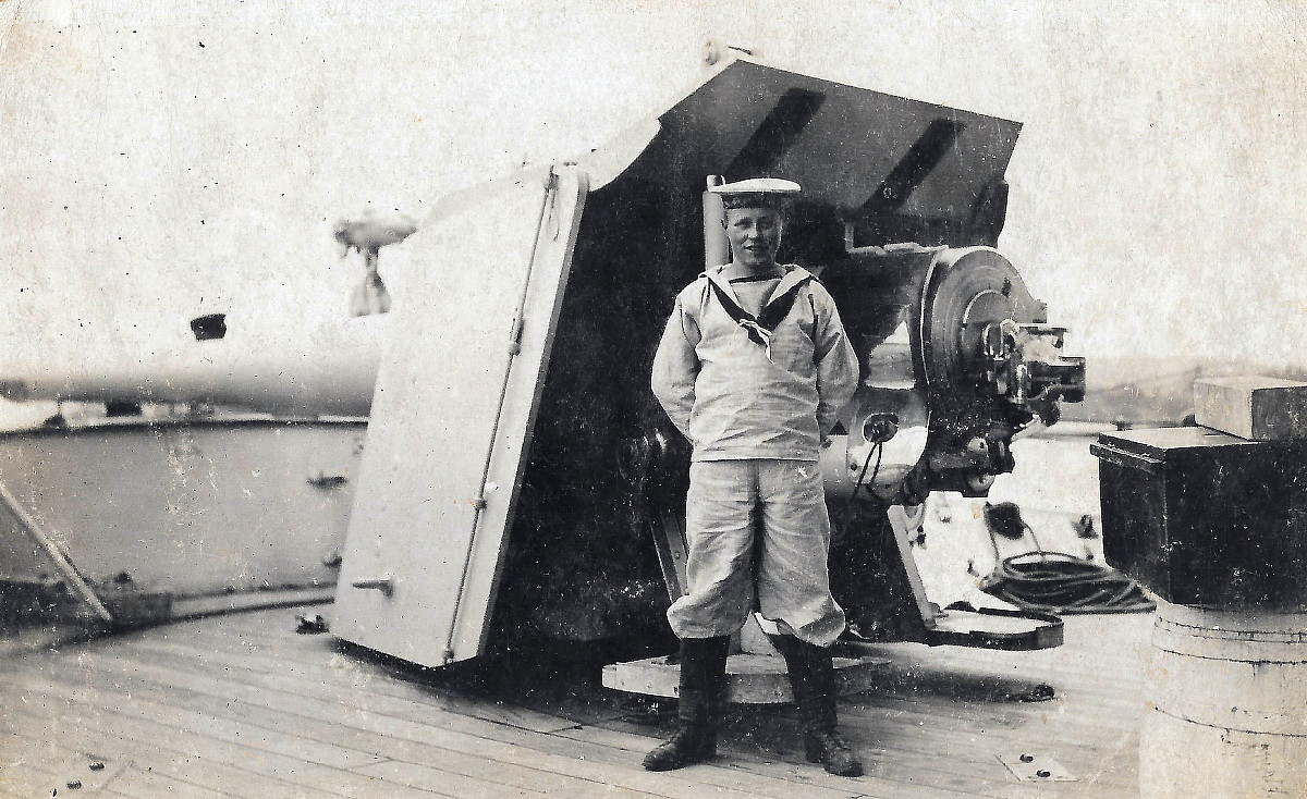 Andrew Boyd Handley of HMCS Niobe