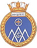 HMCS Jonquiere badge