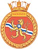 HMCS Mackenzie badge