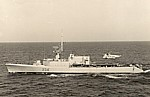 HMCS Assiniboine, mid-1960's DND photo