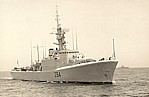 HMCS Qu'Appelle, pre-1967 DND photo