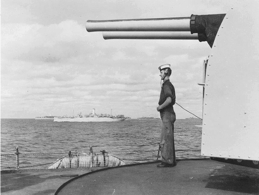 Royal Canadian Navy : Convoy duty on HMCS Prince Robert