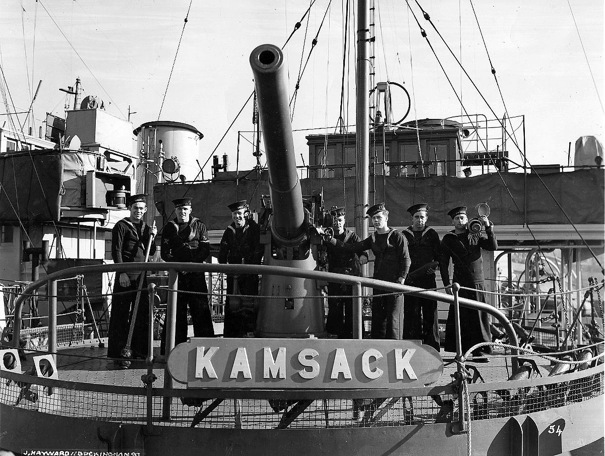 Royal Canadian Navy : HMCS Kamsack