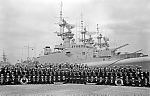 crew members of HMCS Kootenay, 1960