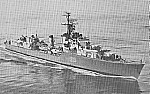 HMCS Athabaskan, mid-1950's, DND photo