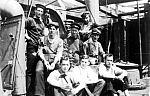 crew members of a British armed trawler