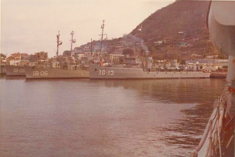Royal Canadian Navy : HMCS Restigouche, 1973.