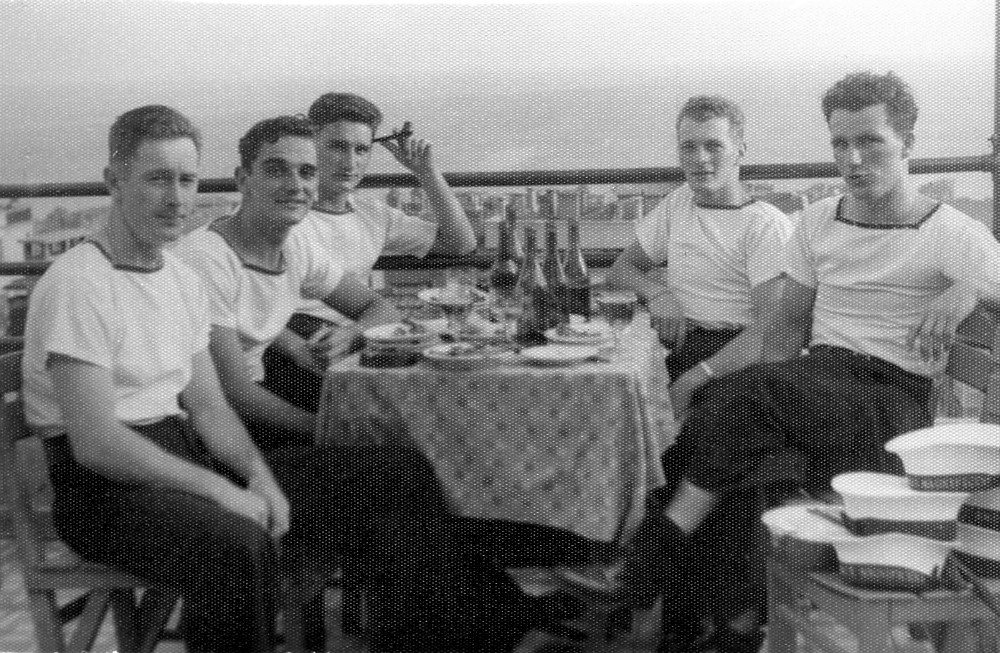 Royal Canadian Navy : Kenneth McCuish in Istanbul, 1952
