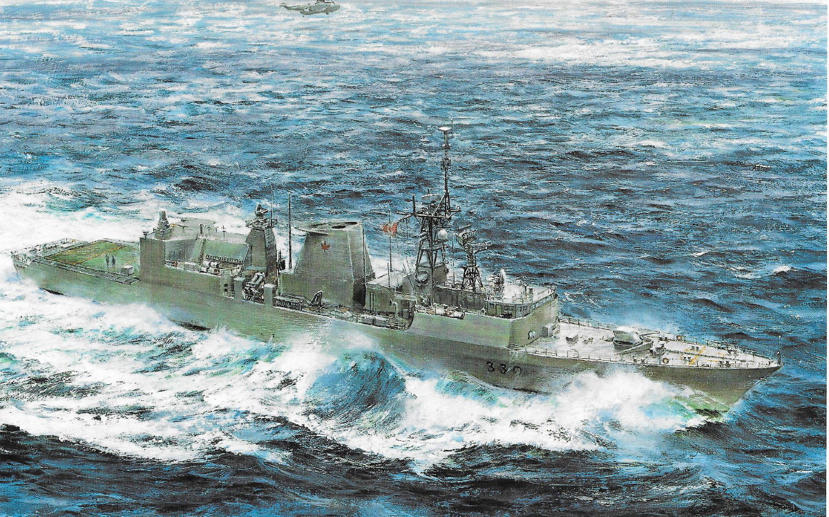Royal Canadian Navy : Canadian Patrol Frigate Project