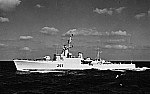 HMCS Restigouche, 1963, photo by Bill Starr